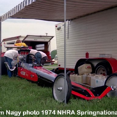 John Hilton 1974 NHRA Springnationals