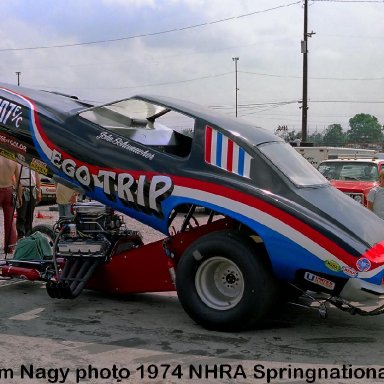 John Schumacher 1974 NHRA Springnationals #1
