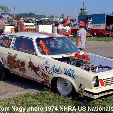 Phil Nichols 1974 NHRA US Nationals
