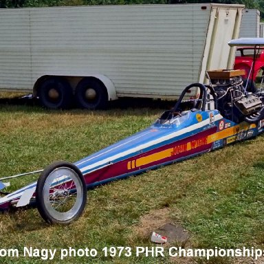 John Wiebe 1973 PHR Championships