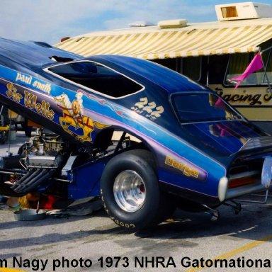 Sir Wells 1973 NHRA Gatornationals