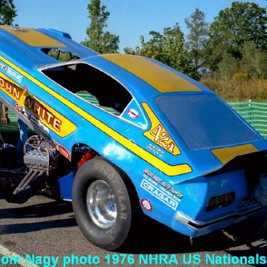 John White 1976 NHRA US Nationals #2