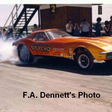 1970 - Corvette ''PSYCHO''