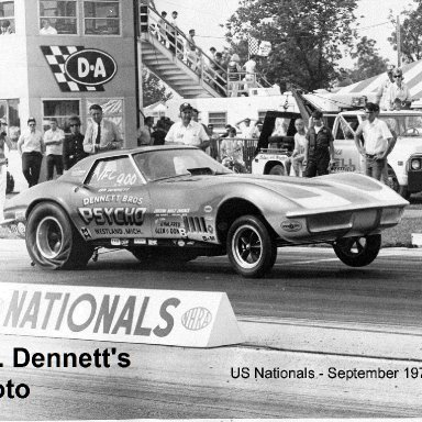 1970 US Nationals, Dennett Bros. PSYCHO