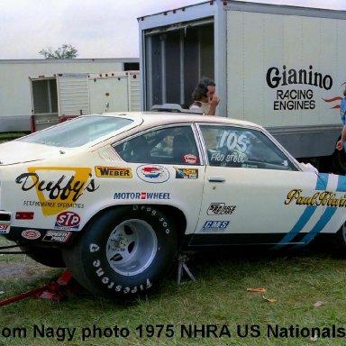 Paul Blevins 1975 NHRA US Nationals