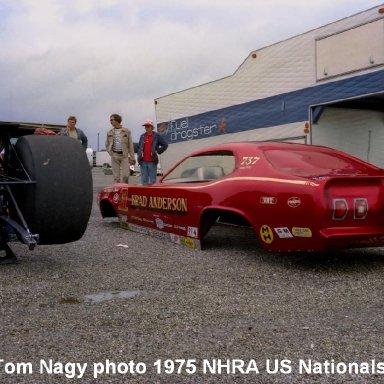 Brad Anderson 1975 NHRA US Nationals #1