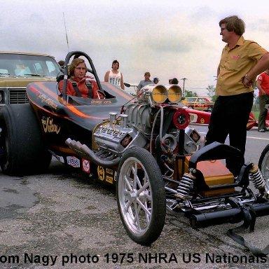 Neilson-Newman-Kiesl 1975 NHRA US Nationals