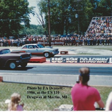 1986, at the US 131 Dragway in Michigan