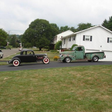 ROB'S 46 CHEVY & 34 FORD