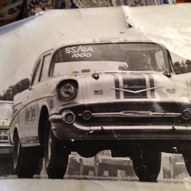 """Robert Simmons """"Kwik-Chek"""" '57 Chevy"""
