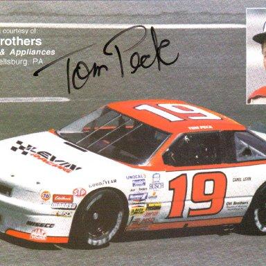 #19 Tom Peck