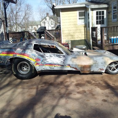 78 Corvette FC body on my chassis