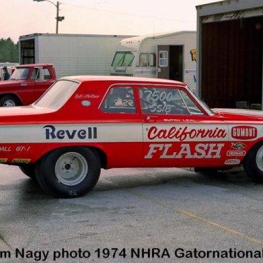 Butch Leal 1974 NHRA Gatornationals