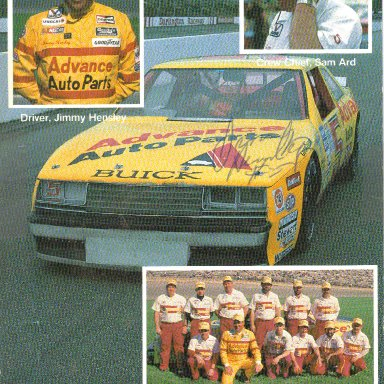 #5 Jimmy Hensley Advance Auto Parts