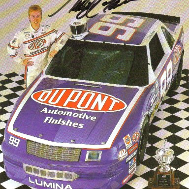 #99 Ricky Craven Dupont Finishes