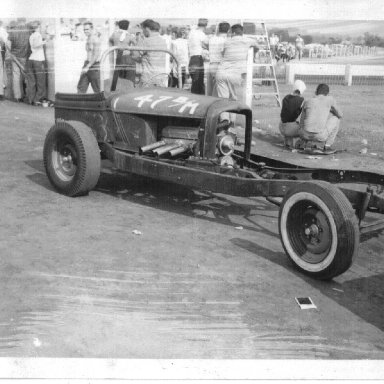 Tom Greens 50's dragster