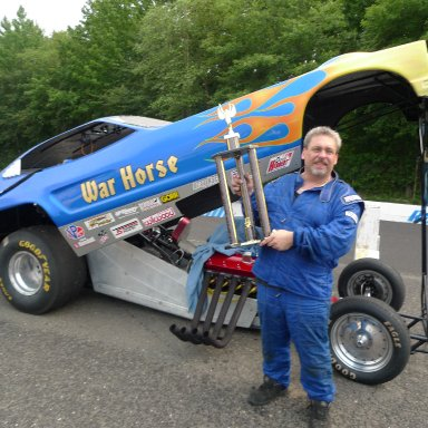 2013 Englishtown Win, Alcohol Injected Funny Car