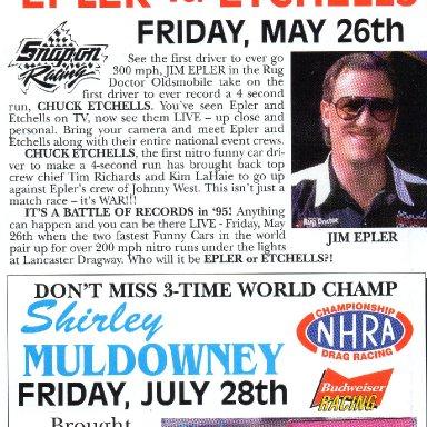Lancaster Raceway/Dragway 1995