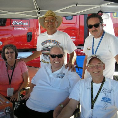 Ford Drag Racing Team Booth