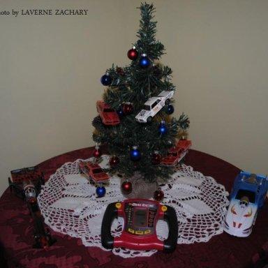 MY DRAG RACING CHRISTMAS TREE