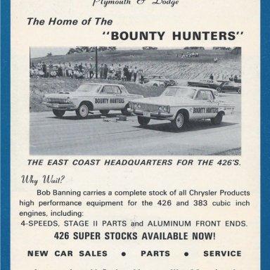 Bob Banning Dodge Racing Ent.
