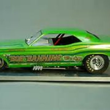 Bob Banning Dodge Funny Car