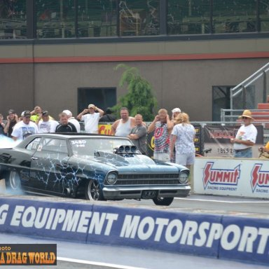 Chevy II Burnout
