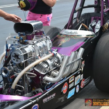Michelle Lewis' Scary Thought Dragster