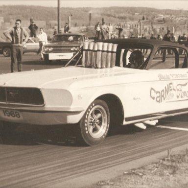 Vindicator-Mustang FlipTop Funny Car 1967-1968