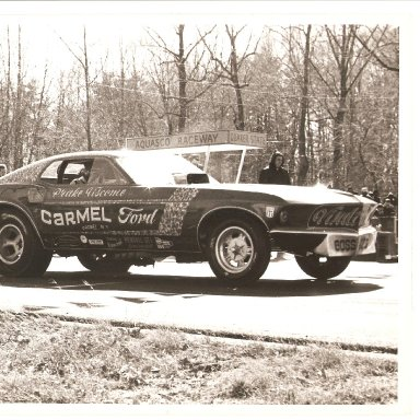 Vindicator-Mustang Funny Car 1969-1970 Aquasco