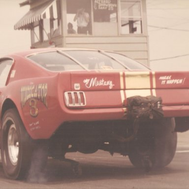 Vindicator-Mustang Funny Car Early Long Nose - Dover2