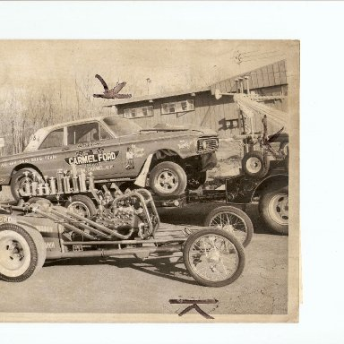 Vindicator - Lad and Dad and Flat Head Dragster