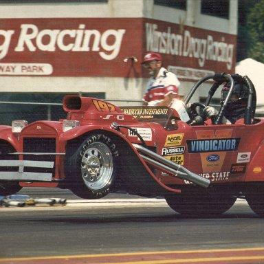 Vindicator - Red Roadster