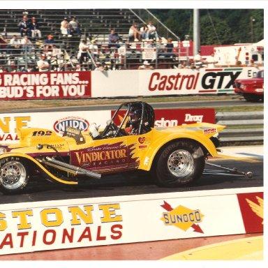 Vindicator - 1991 Purple,Yellow Roadster