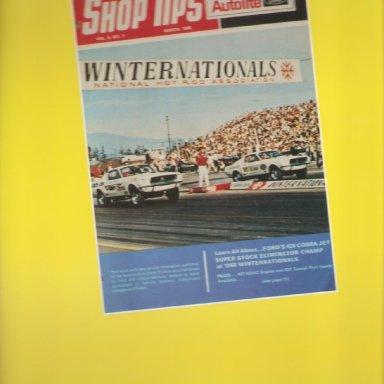 Vindicator - 1968 Winternationals