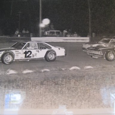 Tommy Eliis & Billy Smith Langley speedway