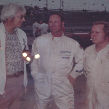 Tommy Ellis at Langley speedway