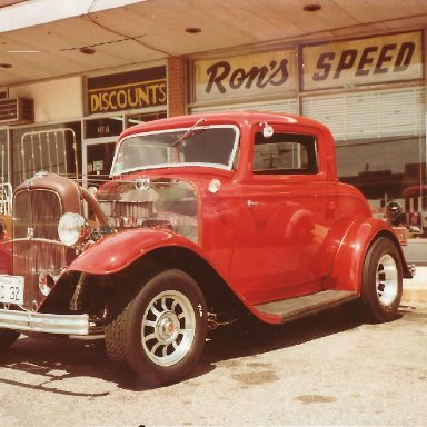 Ron's '32 Ford Coupe