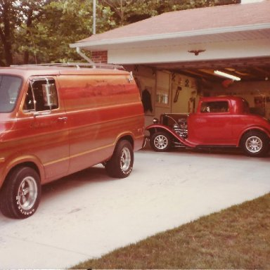 Ron's '73 Dodge Van