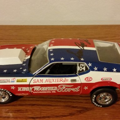 Sam Auxier jr. signed Mach 1