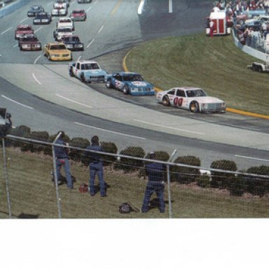 Turn One at Martinsville