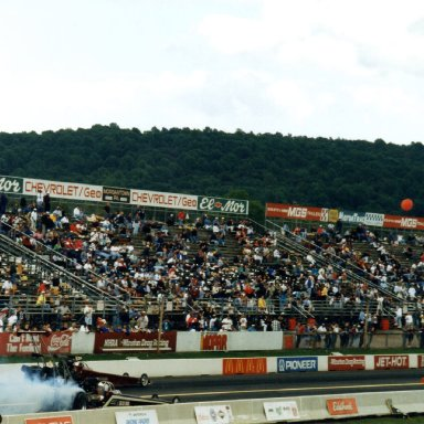 Top Fuel Burn Out