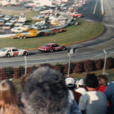 Tommy Ellis and Sam Ard Turn Two at Martinsville