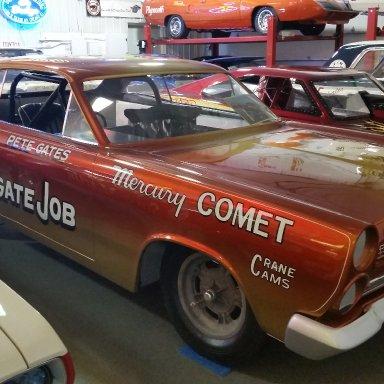 restored Gates 65' Mercury Comet