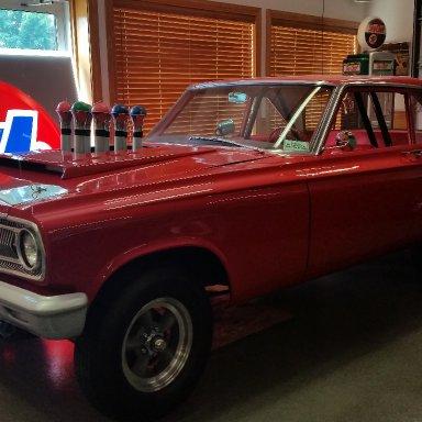 restored 1965 AWB Dodge Fuelie