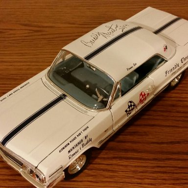 S&M 63 impala signed by Buddy Martin