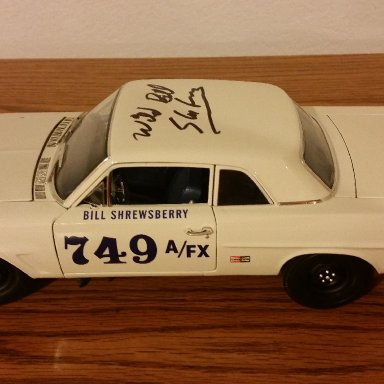 Wild Bill Shrewsberry signed 63 Pontiac