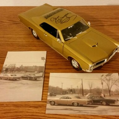 Jim Wangers signed 66 GTO personal driver