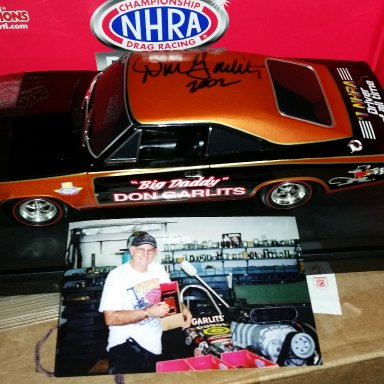 Don Garlits signed Charger