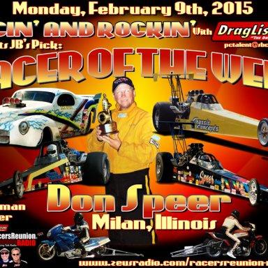 Don Speer, Feb 09, 2015